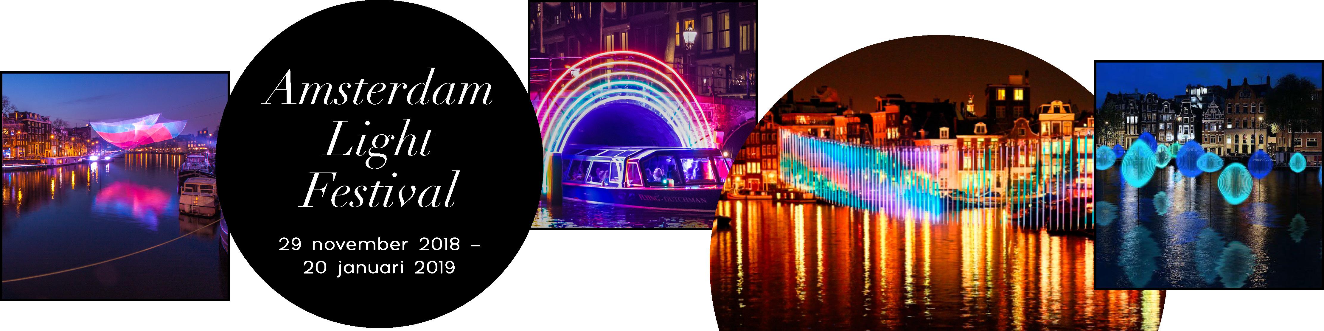 Voluit - dagjes weg - Amsterdam light festival