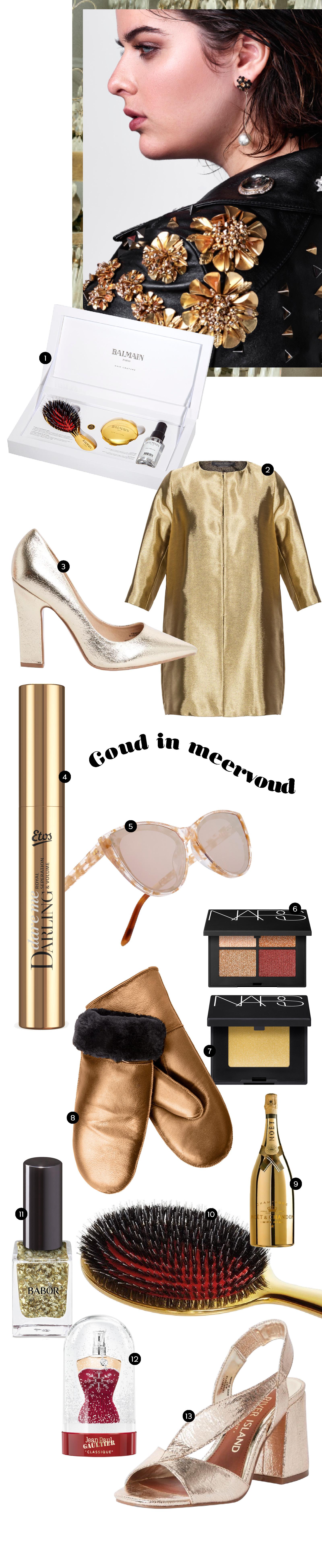 Beautyvol - shopping - goud - glanzend