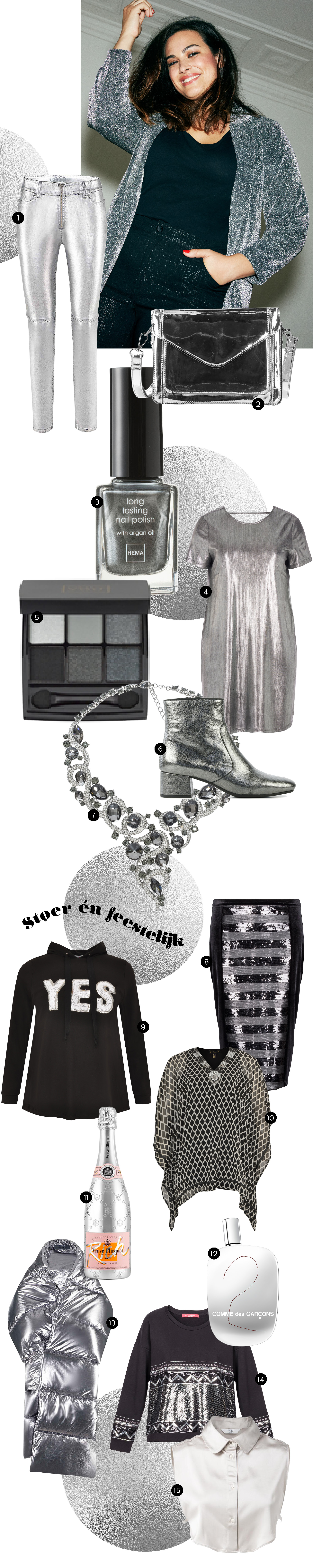 Beautyvol - shopping - zilver - Christmas
