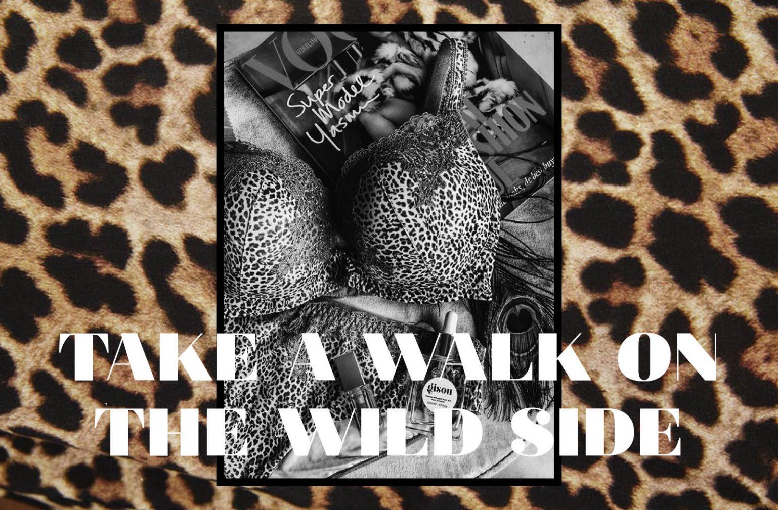 Animal print Shopping Vol Magazine luipaard